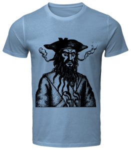 Black Bear Pirate T-Shirt
