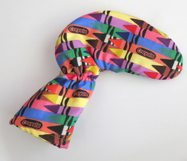 Crayola Crayon Colors Golf Putter Head Cover