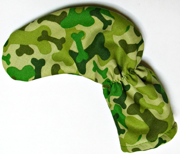 Camo Dog Bones Golf Putter Club Cover