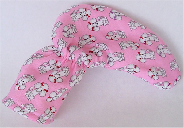 Pink Poodles Golf Club Putter Head Cover