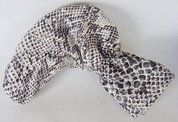 Cotton Snakeskin Golf Putter Head Cover