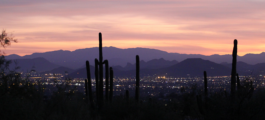 Inspiration – A nice cool Tucson evening