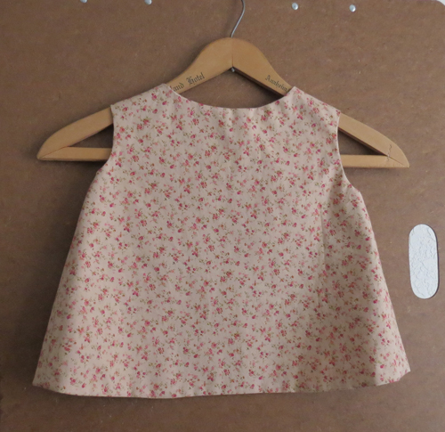 Toddler Size 1 Tea Rose Pinafore