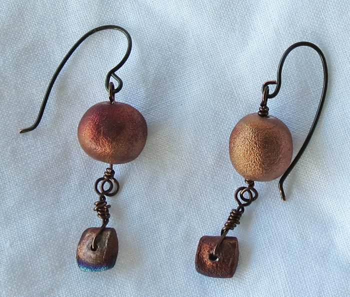 Raku Earrings