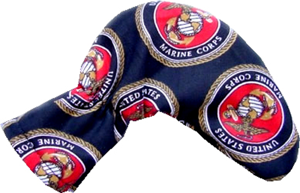 USMC Golf Putter Head Cover