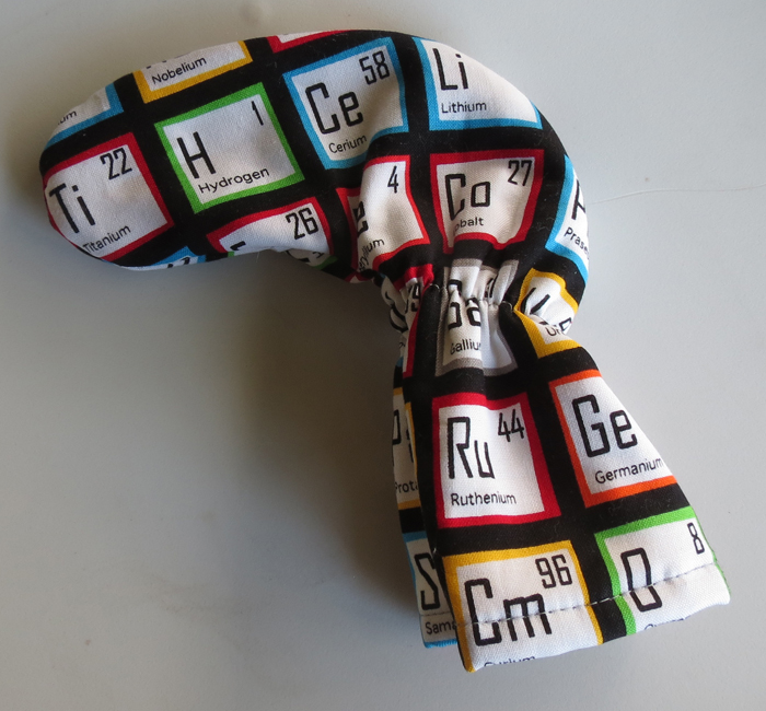 Periodic Table Putter Cover