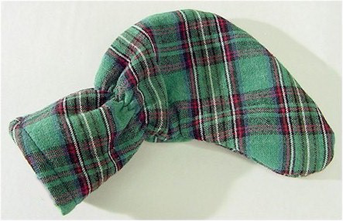 Green Tartan Plaid Putter Cover