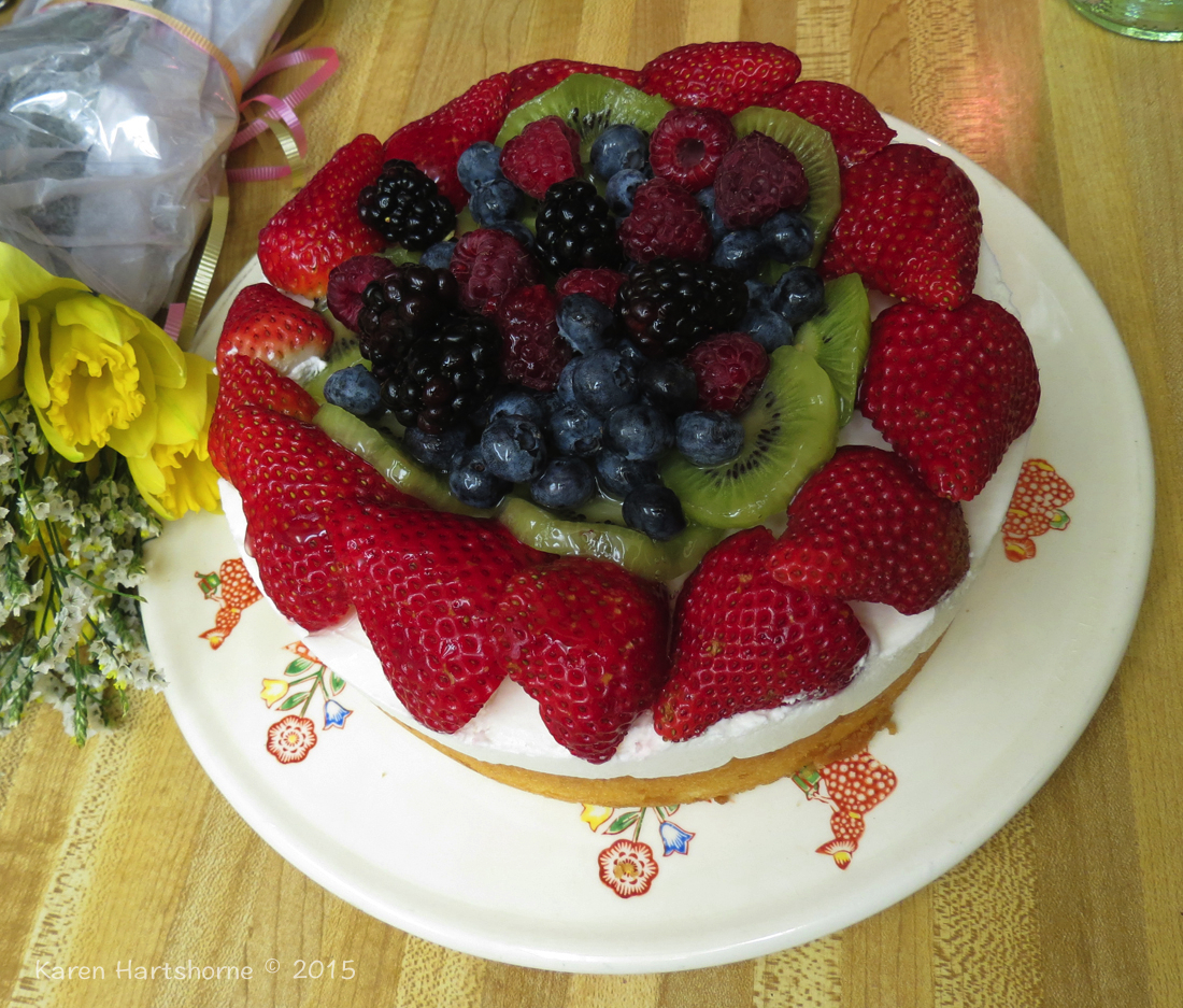 Birthday Berry Shortcake