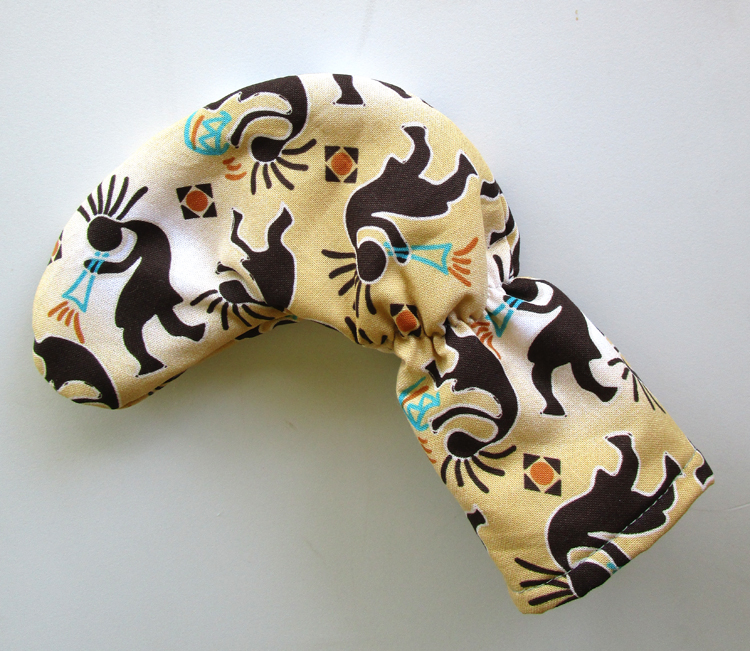 Kokopeli putter club cover