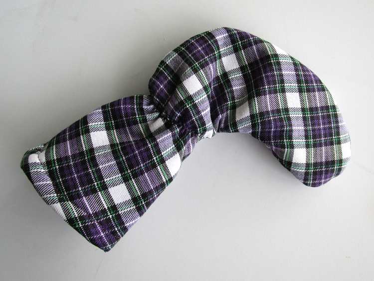 Tartan Plaid Putter Club Cover