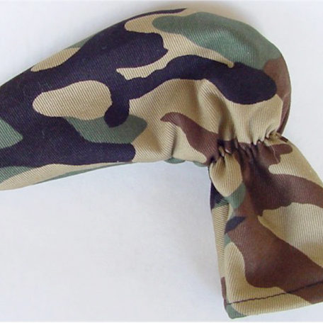 Camo Golf Putter Cover