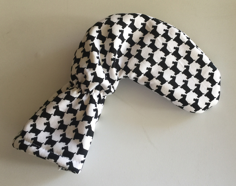 Scottish Terrier Houndstooth Club Cover