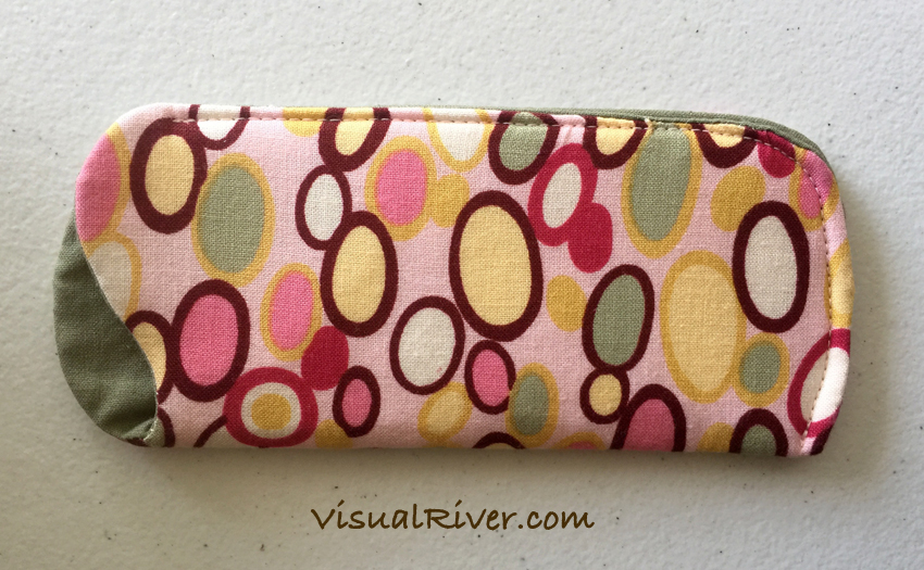 Bubbles Eyeglass Case