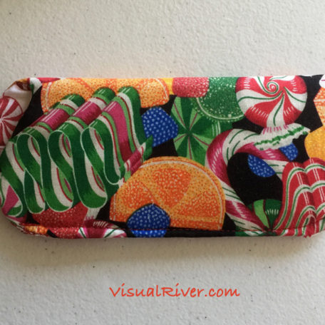 Christmas Candy Eyeglass Case