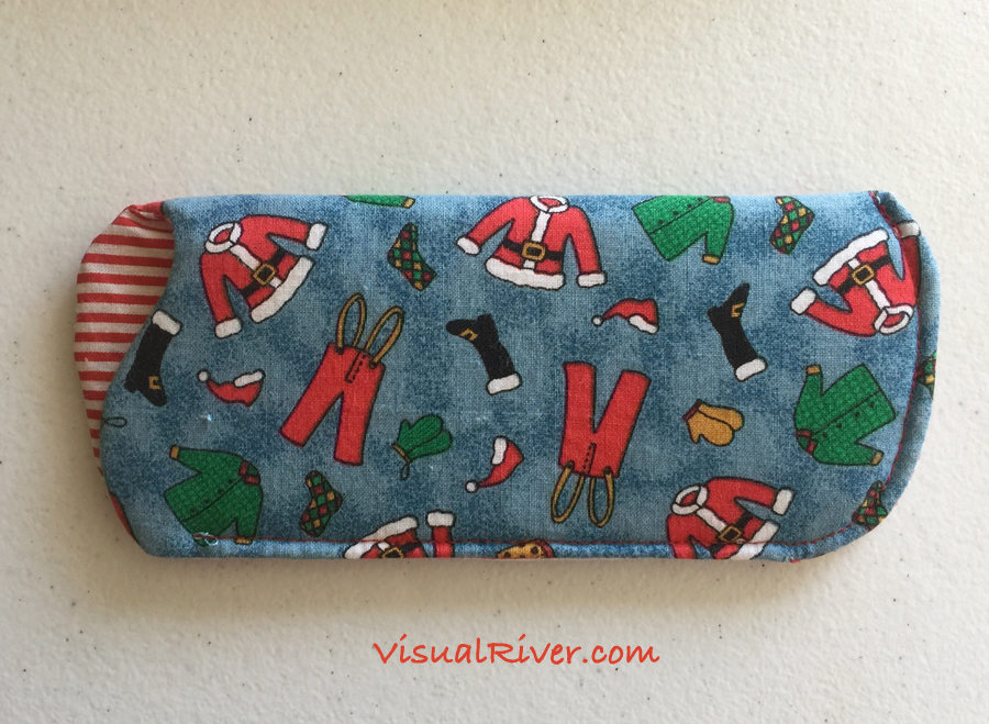 Santa Eyeglass Case