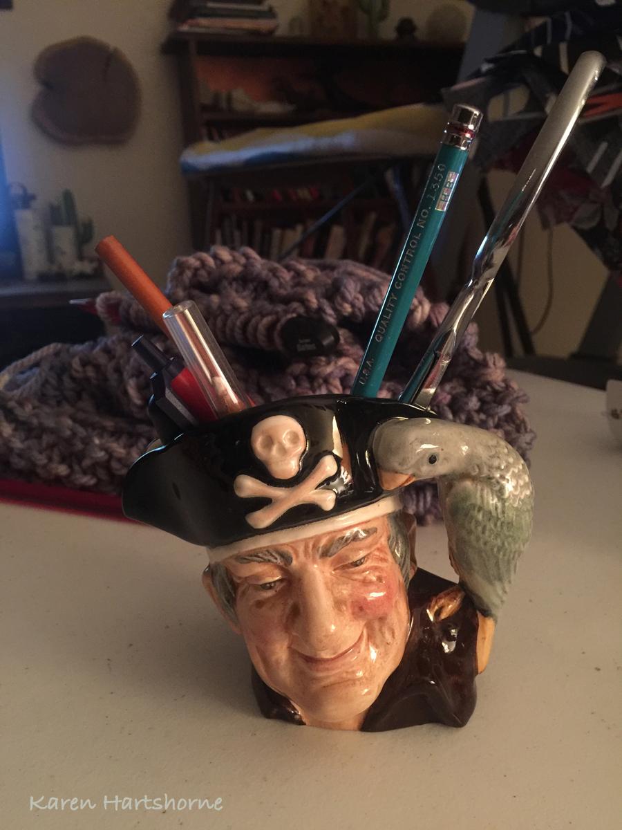 New find for my studio, Long John Silver Toby Mug