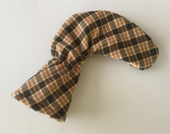 Wilson 8802 Brown Plaid Cover