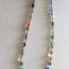 Cane Glass Multi Colored Necklace by VisualRiver