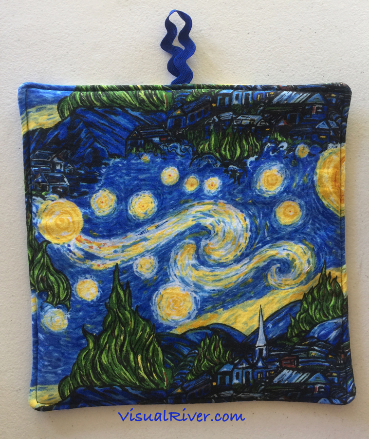 Van Gogh Starry Night Pot Holder