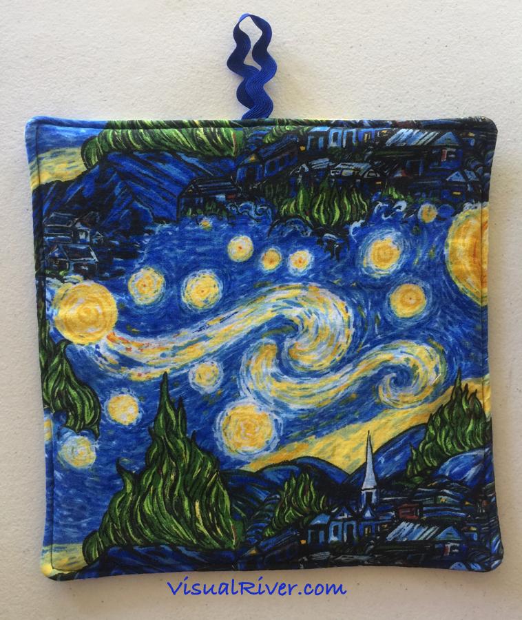 Van Gogh Starry Night Pot Holder