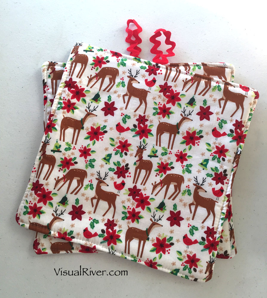 Christmas Pot Holders