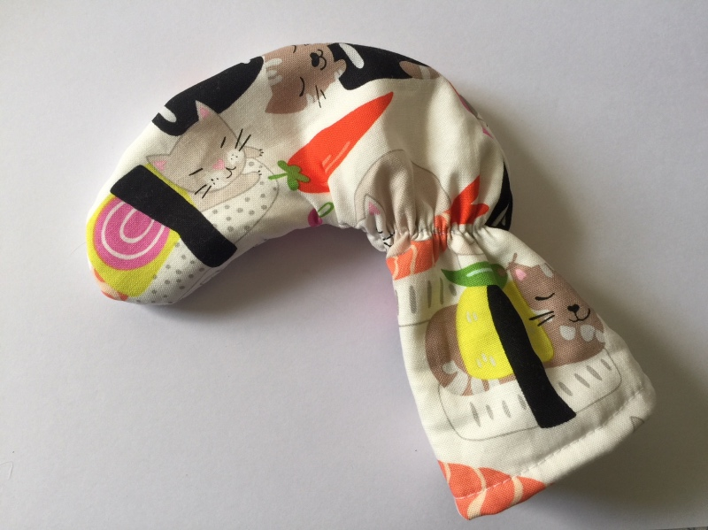 Cat Sushi Golf Club Putter Cover
