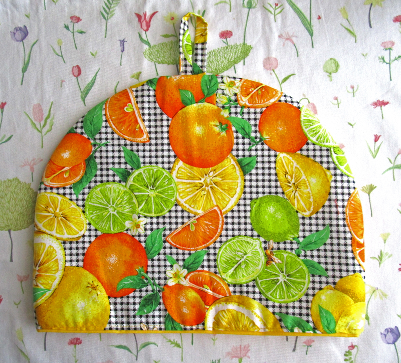 Orange, Lemon and Lime Tea Cozy
