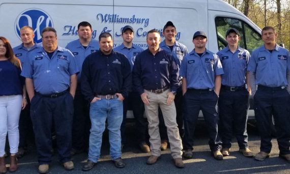 The Williamsburg Heating & Air Conditioning Team