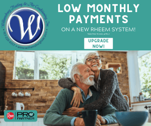 Low Monthly Payments offered by Williamsburg Heating & Air Conditioning