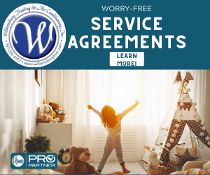 Service Agreements offered by Williamsburg Heating & Air Conditioning