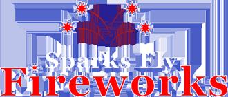 Sparks Fly Fireworks logo