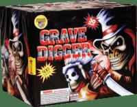 Grave Digger - 30 Shots - 500 Gram Aerials - Fireworks
