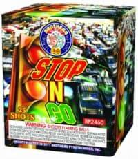 Stop N Go - 25 Shots - 200 Gram Aerials - Fireworks