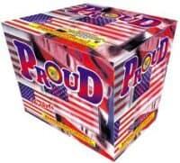 Proud - 16 Shots - 500 Gram Aerials - Fireworks