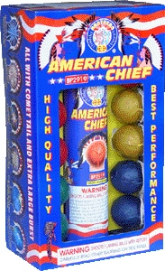 American Chief - Reloads - Reloadables - Mortars - Fireworks