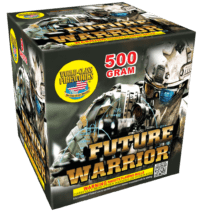 Future Warrior - 9 Shots - 500 Gram - Fireworks