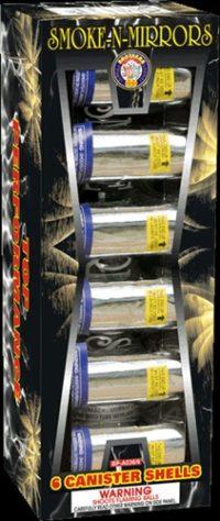 Smoke-N-Mirrors - Smoke And Mirrors - Reloads - Reloadables - Mortars - Fireworks