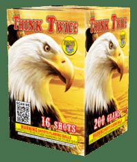 Think Twice - 16 Shots - 200 Gram Aerials - Fireworks