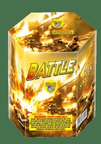 Battle - 7 Shots - 200 Gram Aerials - Fireworks
