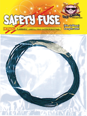 Fuse - 24 Seconds - Safety - Firing - Fireworks