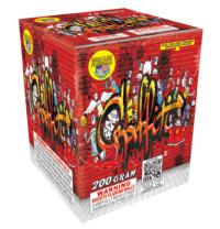 Graffiti - 15 Shots - 200 Gram Aerials - Fireworks