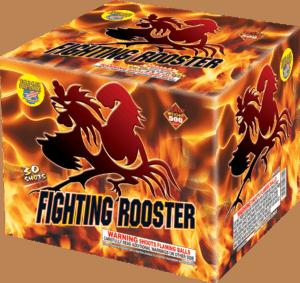 Fighting Rooster - 30 Shots - 500 Gram Aerials - Fireworks