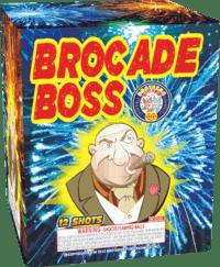 Brocade Boss - 12 Shots - 200 Gram Aerials - Fireworks