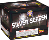 Silver Screen - 35 Shots - 200 Gram Aerials - Fireworks