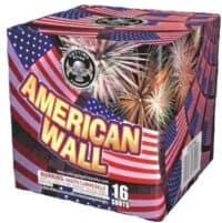 American Wall - 16 Shots - 200 Gram Aerials - Fireworks