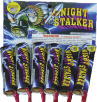 Night Stalker - Rockets - Bottle Rockets - Stick Rockets - Fireworks