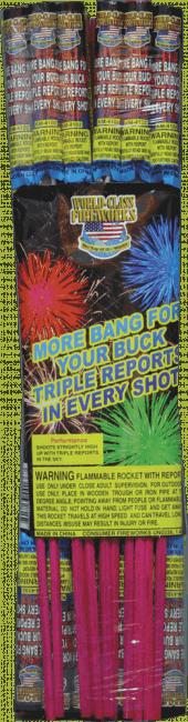 More Band For Your Buck - Triple Bang - Rockets - Bottle Rockets - Stick Rockets - Fireworks