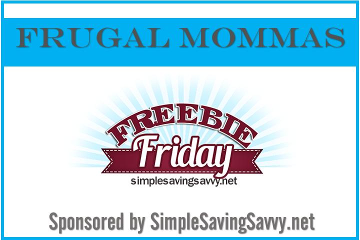 Frugal Mommas Freebie Friday