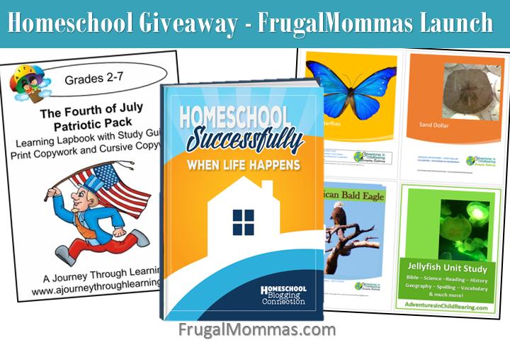 homeschool giveaway value over $325
