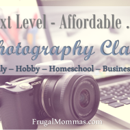 Next Level – Affordable: Photography Classes
